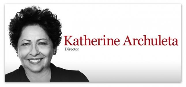 Office of Personnel Management Director Katherine Archuleta resigned Friday amid growing criticism over her handling of a massive data breach that resulted in the theft of personal information from millions of people. Photo courtesy of OPM.gov
