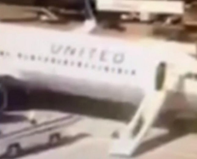 A United Airlines flight attendant was removed from flight duties after she deployed the plane's emergency slide for no apparent reason, and then slid down it to exit the plane. The plane had landed safely at Bush Intercontinental Airport in Houston. 