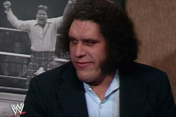 Andre the Giant talks with Rowdy Roddy Piper on Piper's Pit. The wlife of the wrestling icon will be explored as part of a documentary from HBO and Bill Simmons. Photo courtesy of WWE/YouTube
