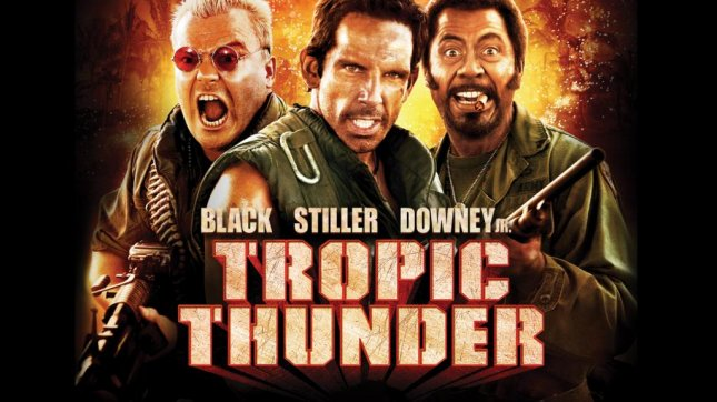 Tropic Thunder is coming to Netflix in April. Image via Netflix