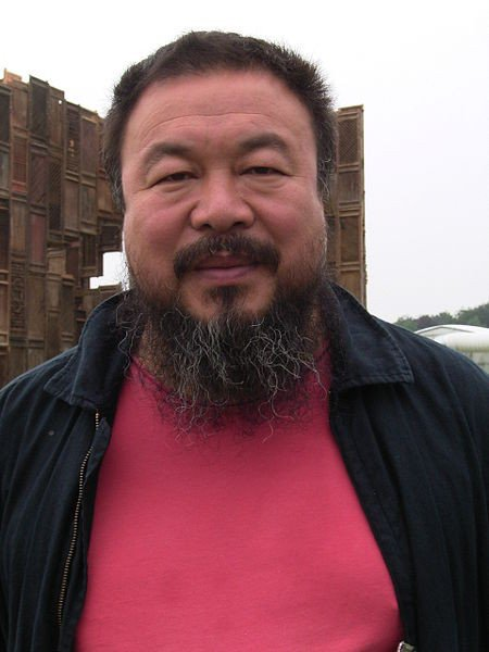 Ai Weiwei in 2007, courtesy of Wikimedia Commons.