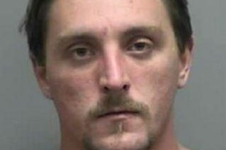 Authorites are searching for Joseph Jakubowski, 32, who is suspected of stealing firearms from a gun store in Janesville, Wis., and threatening an unspecified attack. He is 5' 10'' and weighs 200 pounds, police said. Photo courtesy Rock County Sheriff's Office/Facebook