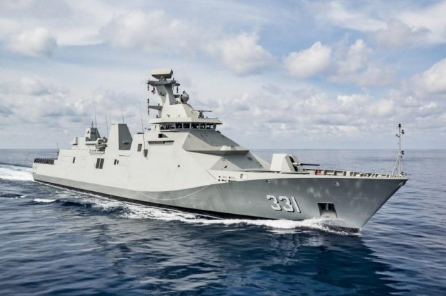 The Mexican Navy Sigma 10514 Class ship is to be outfitted to use several weapon systems procured through the U.S. State Department's Foreign Military Sales program. Photo courtesy of Damen shipyards