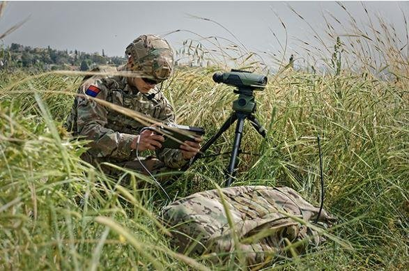 The British army has contracted for a system that will allow soldiers to identify targets while putting themselves in less danger, officials said Friday. Photo courtesy Elbit Systems