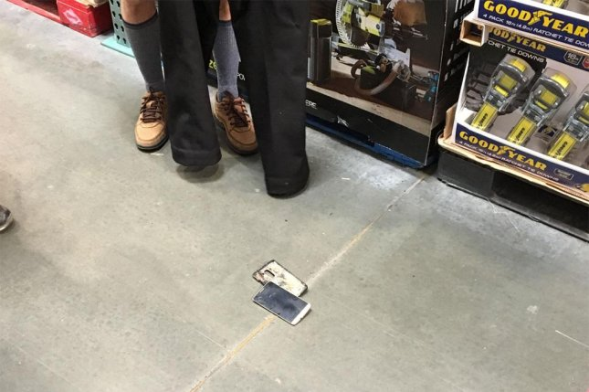 Watch: LG phone catches fire in shopper's pocket - UPI com