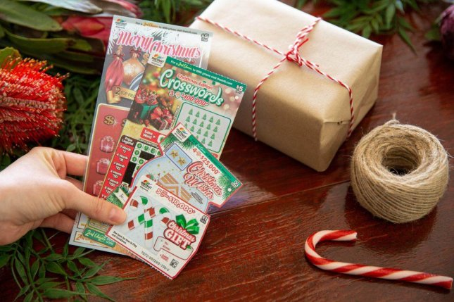 A New South Wales, Australia, woman said the lottery ticket that earned her a$7,765.45 top prize was originally purchased to be a Christmas gift for a friend. Photo courtesy of The Lott