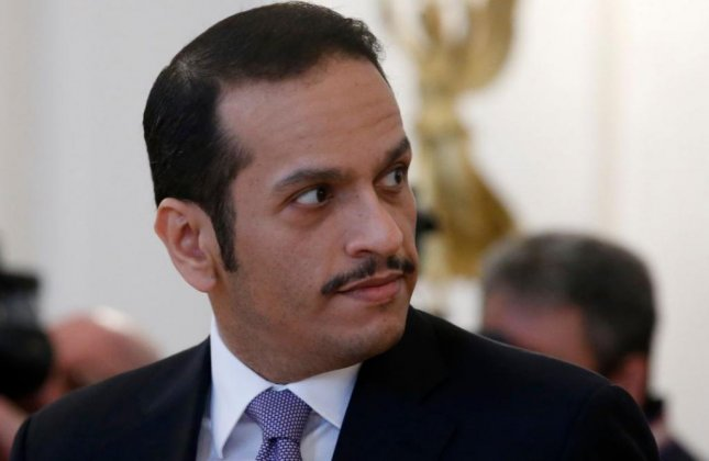 Qatari Foreign Minister Sheikh Mohammed bin Abdulrahman al-Thani arrived in Kuwait Monday to respond to a list of 13 demands issued by Saudi Arabia, Bahrain, the United Arab Emirates and Egypt to end a diplomatic dispute. Photo by Sergei Chirikov/EPA