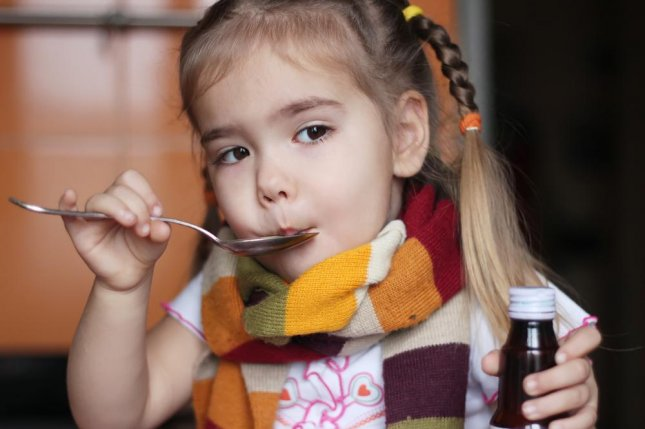 Most over-the-counter cold and cough medicines are ineffective in children younger than 6, and can lead to adverse health effects, but researchers say current warning labels do not dissuade parents enough from using them anyway. Photo by Maria Symchych/Shutterstock