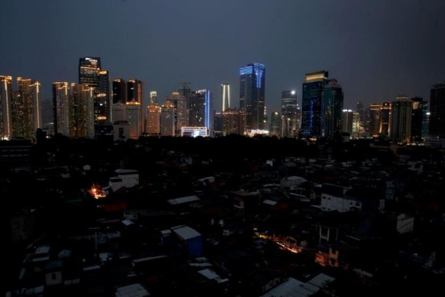 Indonesia's capital of Jakarta, as well as its suburbs and the islands of Java and Bali, were struck by an power blackout on Sunday. Photo by Adi Weda/EPA-EFE