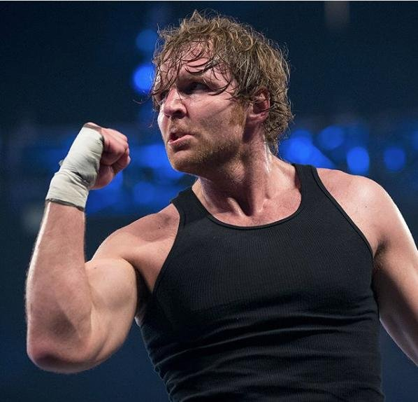 WWE Superstar Dean Ambrose will miss up to nine months due to a triceps tendon injury. Photo courtesy of WWE/Instagram