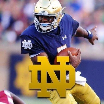 Notre Dame Football Twitter