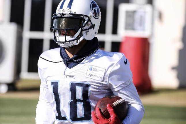Tennessee Titans wide receiver Rishard Matthews. Photo courtesy of the Tennessee Titans/Twitter