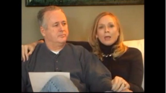 Dianne Reidy, with her husband, Dan. (YouTube)