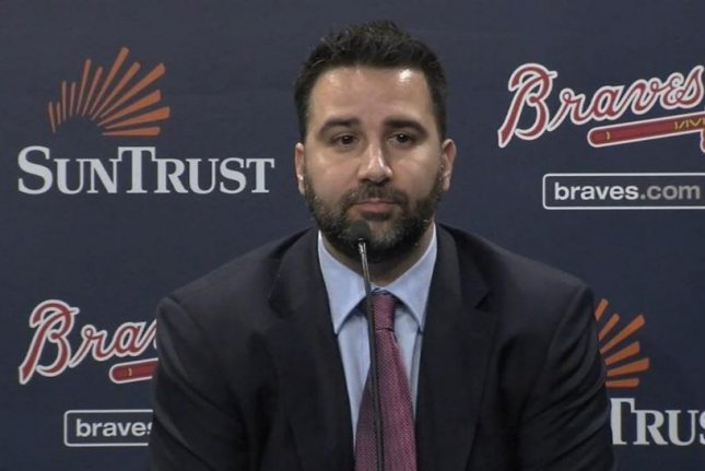 The Atlanta Braves hired former Los Angeles Dodgers and Toronto Blue Jays executive Alex Anthopoulos as their executive vice president and general manager. Photo courtesy of MLB/Twitter
