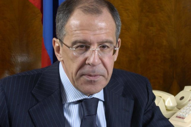 Russian Foreign Minister Sergei Lavrov met with Syrian National Coalition leader Khaled Khoja in Moscow in an attempt to seek a political settlement in the prolonged civil war. Photo by the Ministry of Foreign Affairs of Russia