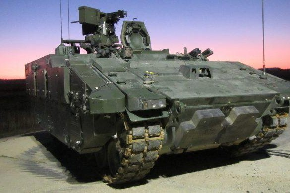 The AJAX armored-fighting vehicle is currently under development for the U.K. military. Photo courtesy of General Dynamics U.K.
