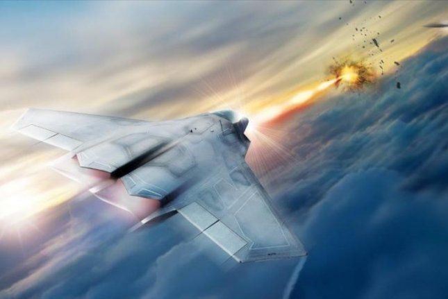 Lockheed Martin is working with the Air Force Research Lab to develop and mature high energy laser weapon systems, including the high energy laser pictured in this rendering. Photo by Air Force Research Lab