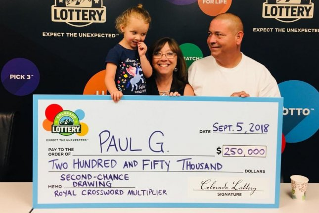 Look: Colorado man collects third major lottery jackpot