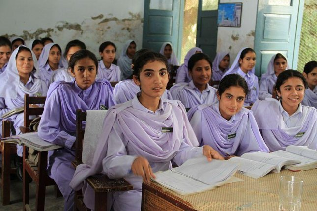 A school in northwestern Pakistan, like the one pictured, was targeted by a suicide bomber on January 6, 2014. The attack was thwarted when a ninth grade male student stopped the bomber from entering the school. The suicide bomber detonated, killing himself and the 15-year old student. (CC/UK Department for International Development)