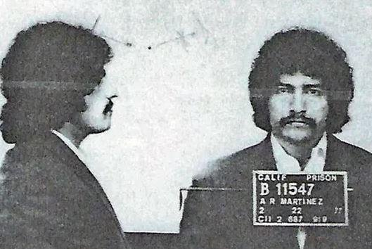 Arthur Rudy Martinez, shown here in a 1977 mug shot, is believed to be responsible for the deaths of two California women. Photo courtesy San Luis Obispo County Sheriff's Office