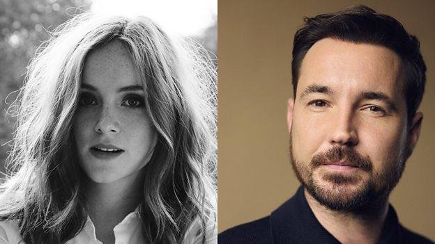 Sophie Rundle and Martin Compston are set to star in the new, five-part thriller, The Nest. Photo courtesy of the BBC