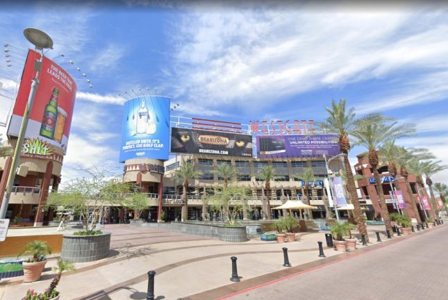 Westgate Entertainment District is home to professional sports teams the Arizona Coyotes of the NHL and the NFL's Arizona Cardinals. Photo courtesy of Google Maps/Website