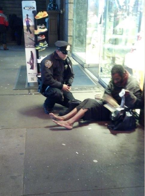 (Credit: Jennifer Foster/NYPD Facebook)