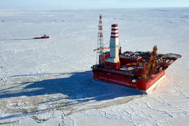 Russian oil company Gazprom Neft said it's expecting more oil output from a field in the extreme Arctic north of the country. Photo courtesy of Gazprom Neft.