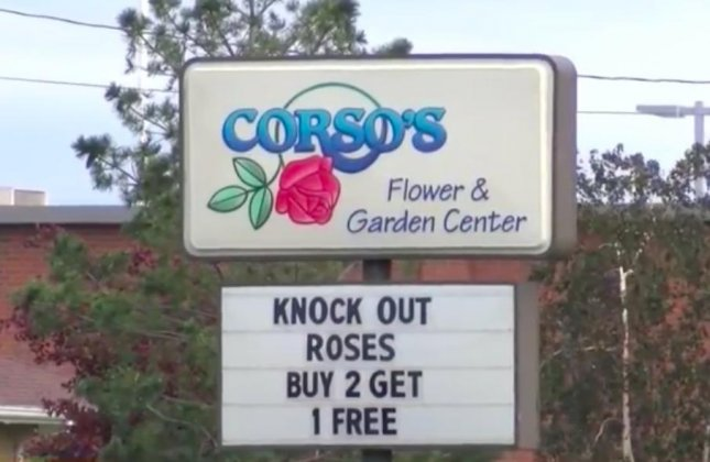 U.S. Immigration and Customs Enforcement officers arrested 114 people at two Corso's Flower and Garden Center locations in Ohio. Screen capture/WNWO