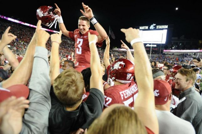 The parents of former Washington State quarterback Tyler Hilinski (3) said an autopsy performed after his January suicide showed evidence of chronic traumatic encephalopathy (CTE) in his brain. Photo courtesy of Tyler Hilinski/Twitter
