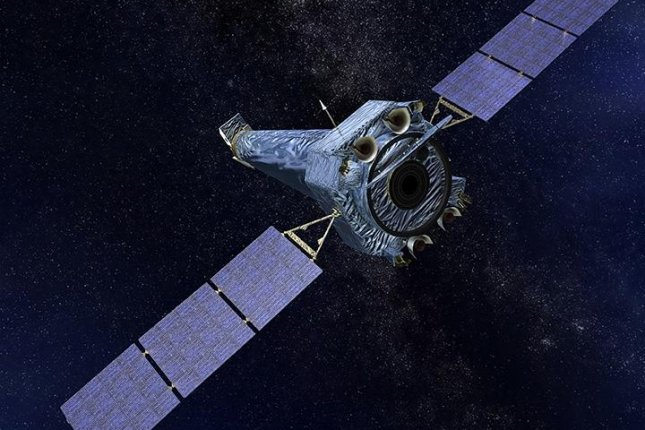 Like Hubble, the Chandra X-ray Observatory is now in safe mode. Engineers aren't sure why. Photo by NASA