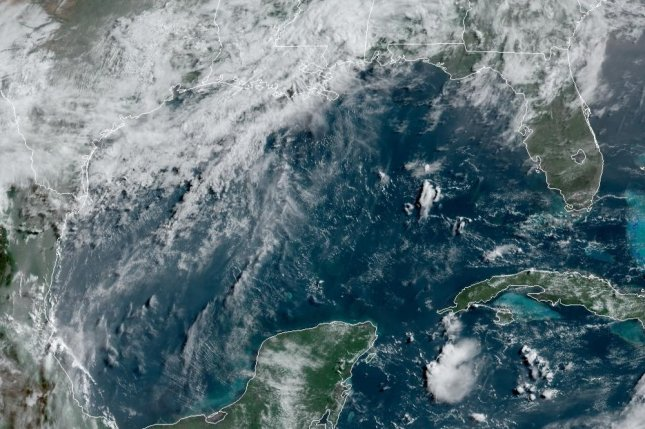 Just this past week, the dust floated across the Caribbean into the southern Gulf of Mexico, and now forecasters say it'll move inland over parts of the U.S. Gulf Coast through Saturday. Photo courtesy of NOAA