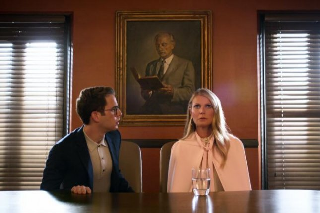 Ben Platt (L) and Gwyneth Paltrow star in The Politician, a new series from Ryan Murphy premiering on Netflix in September. Photo courtesy of Netflix