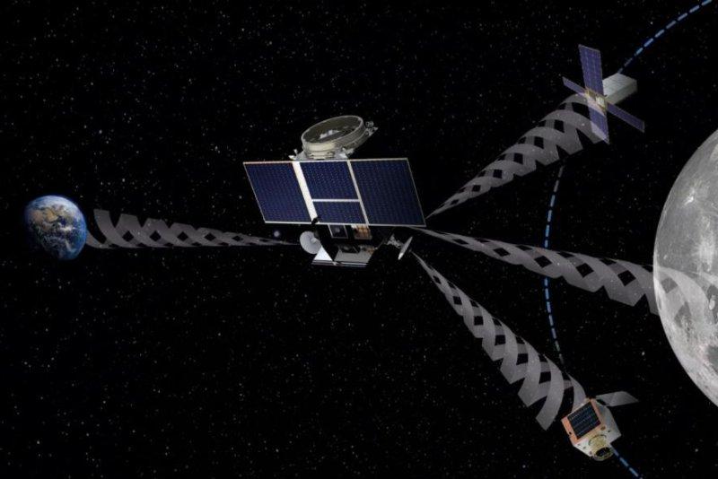 European Space Agency plans network of moon satellites