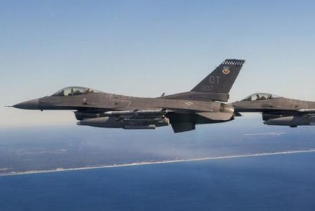 F-16 shoots down drone at Eglin AFB in cruise missile defense test