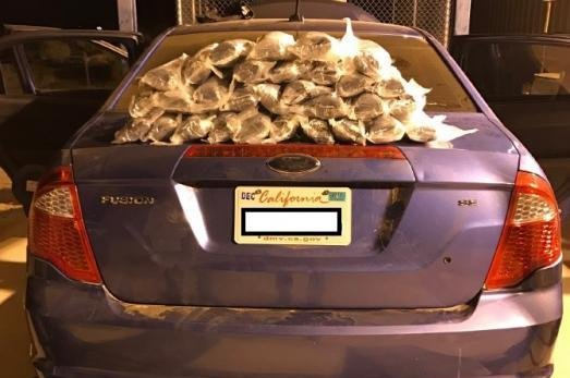 Look Ford Fusion S Gas Tank Hid Nearly 50 Pounds Of Methamphetamine Upi