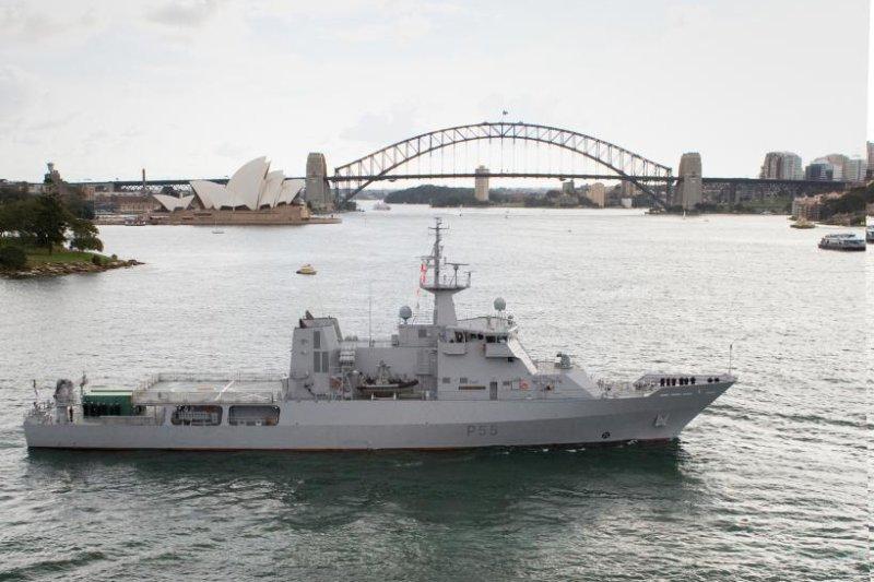 Damen submits tender for Australian OPV ships - UPI com