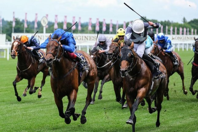 Circus Maximus wins the Group 1 Queen Anne Stakes on the first day of Royal Ascot 2020. Photo courtesy Ascot Racecourse