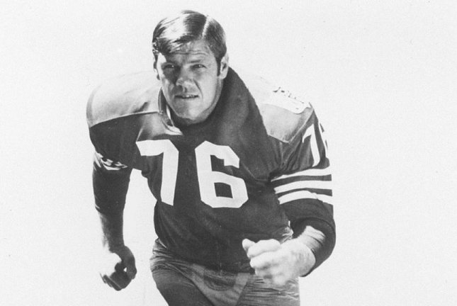 Former 49ers Pro Bowler Len Rohde passed away over the weekend. He was 79. Photo courtesy San Francisco 49ers/Twitter.