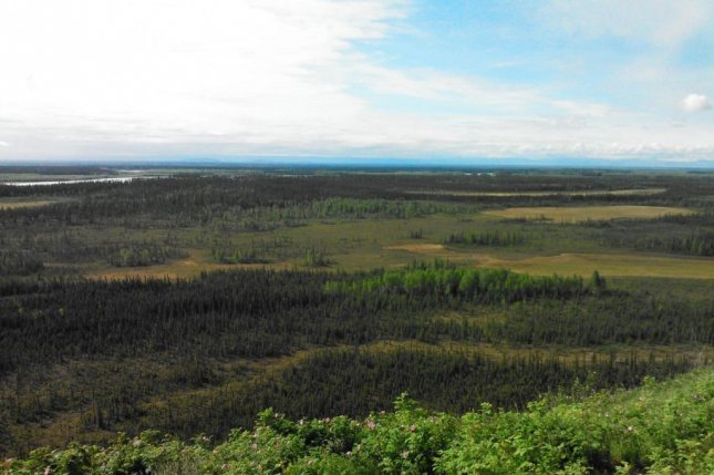 Early spring rains bring rise in methane emissions across Alaska