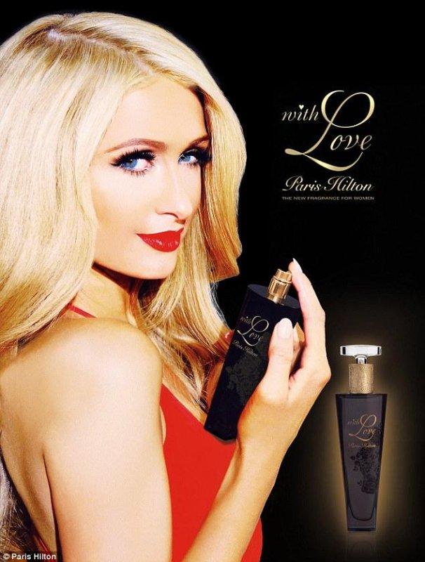 Paris Hilton's new perfume, 'With Love, Paris Hilton.' (Paris Hilton)