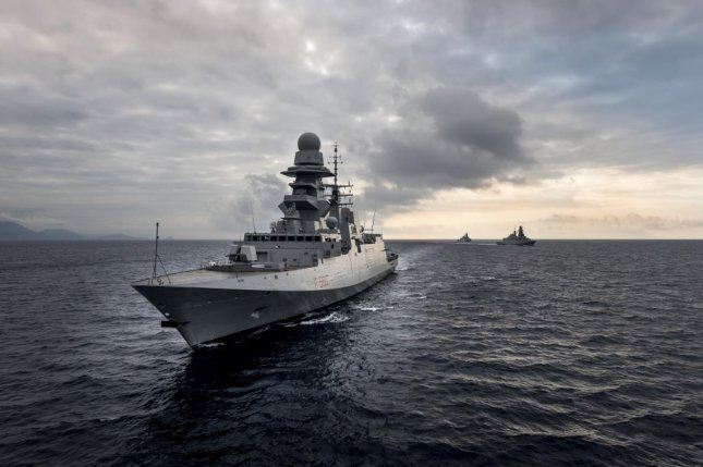 A Bergamini-class FREMM multimission frigate of the Italian navy. Photo courtesy Fincantieri
