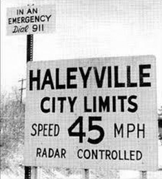 The first-ever 911 call was made in Haleyville, Ala., on February 16, 1968 -- through the efforts of Alabama Telephone Co. President Bob Gallagher. Photo courtesy Haleyville, Ala., Chamber of Commerce/Facebook