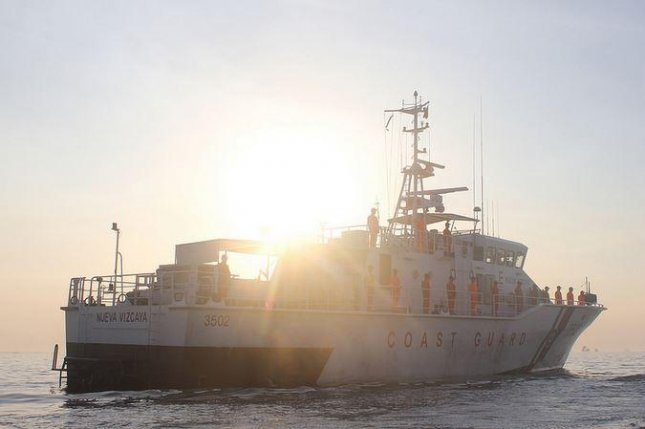The Philippine Coast Guard, pictured in this file photo, led the rescue effort after a ferry carrying nearly 200 people capsized in Ormoc City, Philippines, on Thursday, July 2, 2015. At least 38 died and more than a dozen remained missing hours after the accident, which is under investigation. Photo: Philippine Coast Guard