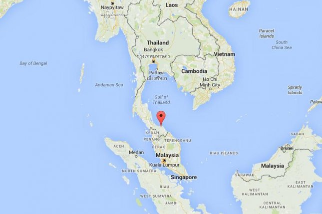 Pattani Thailand Map.Four Dead Four Injured In Southern Thailand Upi Com
