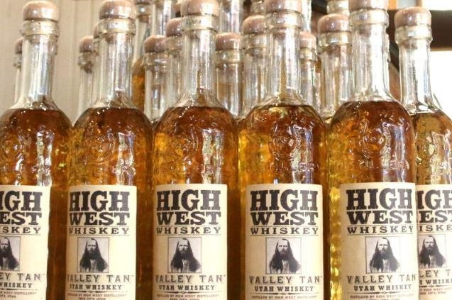 Utah-based High West Distillery, which now sells about 70,000 cases annually, was acquired by Constellation Brands on Tuesday. Photo by High West Distillery