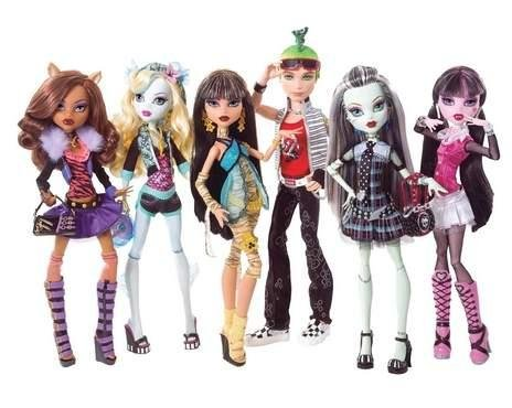 Monsters High dolls are the second-best selling doll in the world. (Mattel)