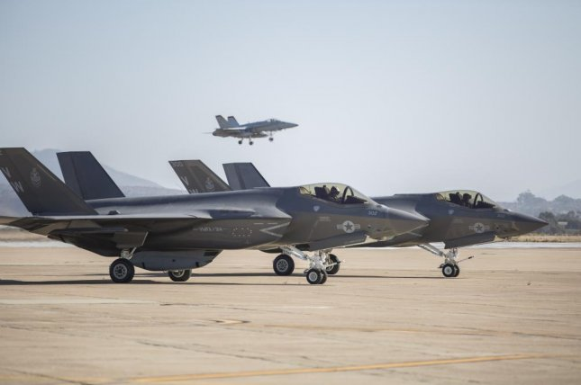 Marine Fighter Attack Squadron 314 declared initial operational capability for the F-35C this week, the first squadron in the U.S. Marine Corps to do so. Photo courtesy of U.S. Navy