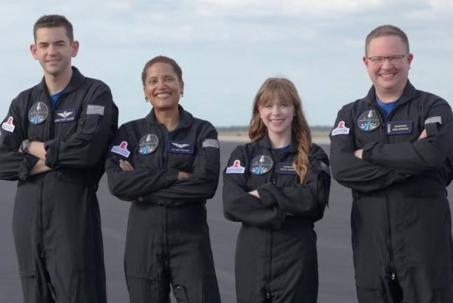 SpaceX on Tuesday introduced the final two members of the crew for its Inspiration4 all-private space mission which will orbit around Earth in September. Photo courtesy SpaceX