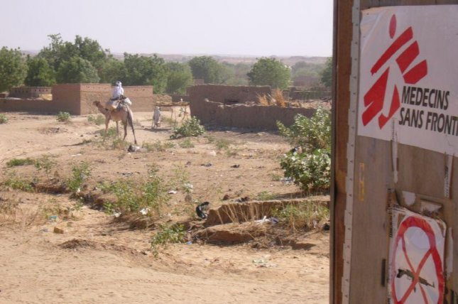 A Doctors Without Borders outpost in Chad, pictured in 2005. (CC/Mark Knobil)